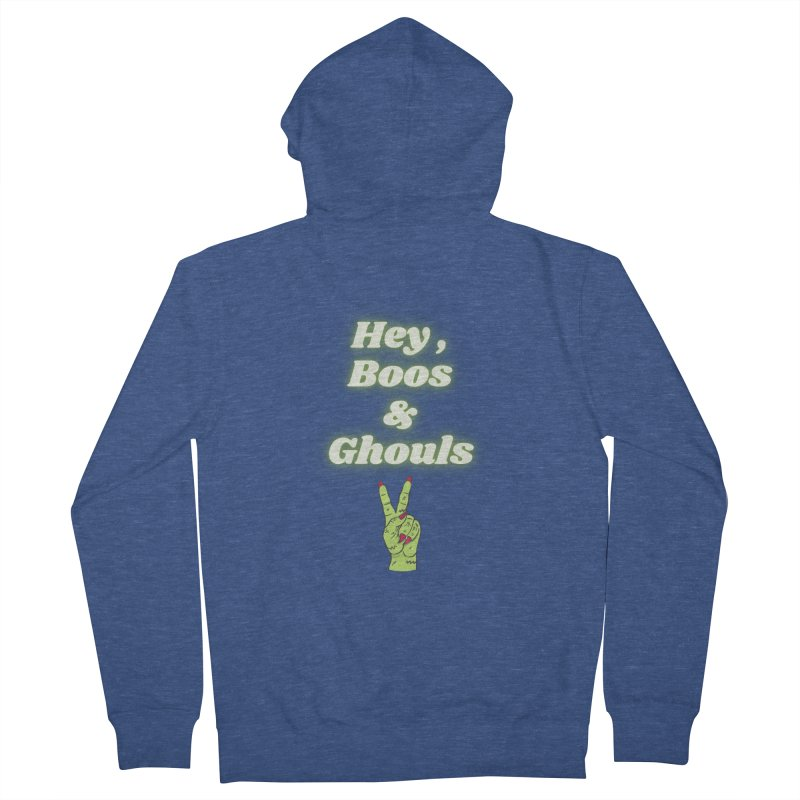 Hey Boos Ghouls Men's Zip-Up Hoody by Townsquare Media El Paso's Shop