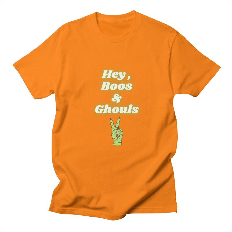 Hey Boos Ghouls Men's T-Shirt by Townsquare Media El Paso's Shop