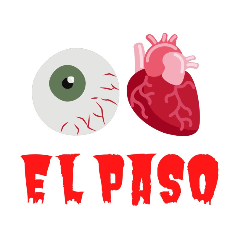 Eye Heart El Paso Men's T-Shirt by Townsquare Media El Paso's Shop