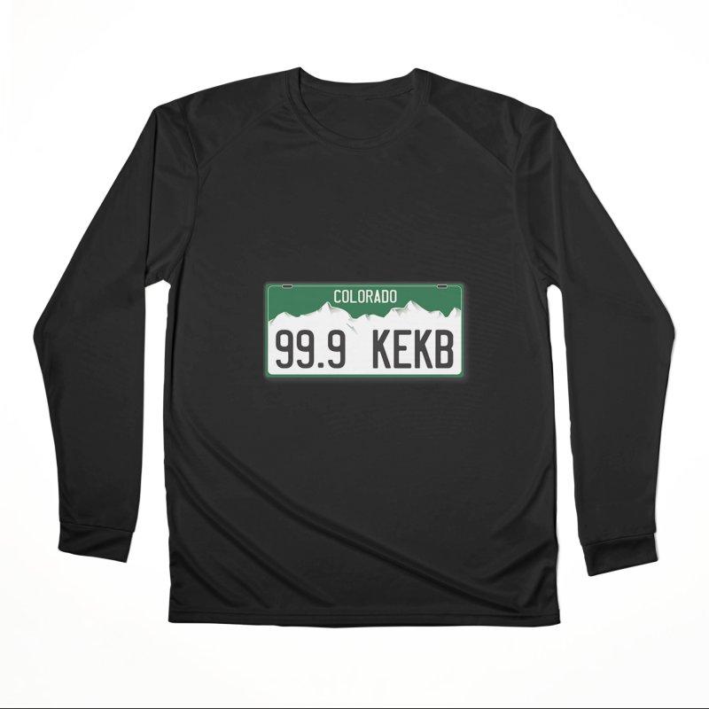 99.9 KEKB Logo Shirt Women's Longsleeve T-Shirt by townsquaregrandjunction's Artist Shop
