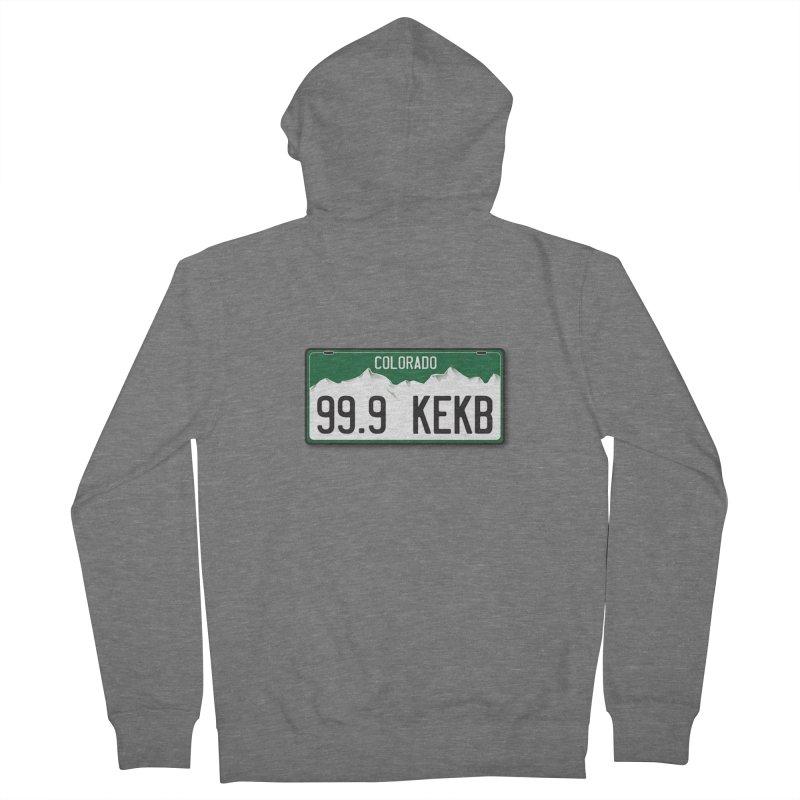 99.9 KEKB Logo Shirt Women's Zip-Up Hoody by townsquaregrandjunction's Artist Shop