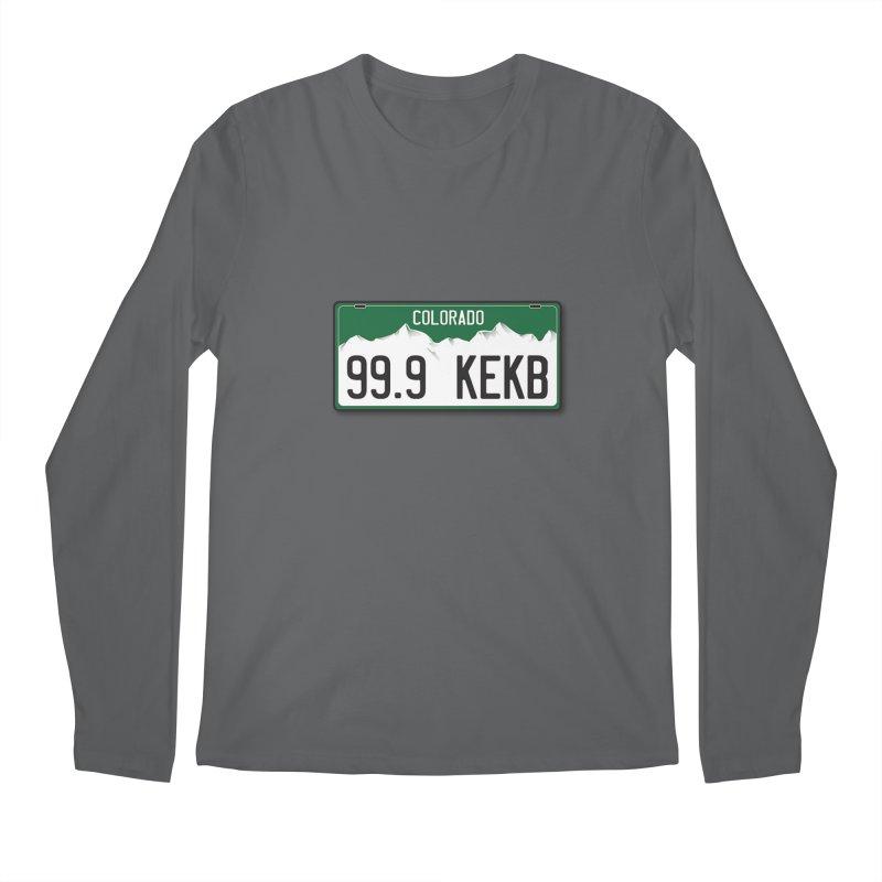 99.9 KEKB Logo Shirt Men's Longsleeve T-Shirt by townsquaregrandjunction's Artist Shop