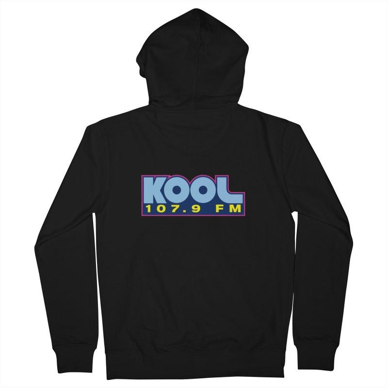 Kool 107.9 Logo Shirt Men's Zip-Up Hoody by townsquaregrandjunction's Artist Shop