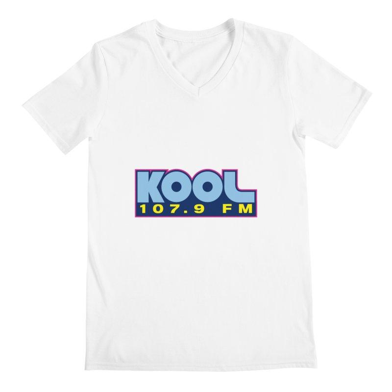 Kool 107.9 Logo Shirt Men's V-Neck by townsquaregrandjunction's Artist Shop