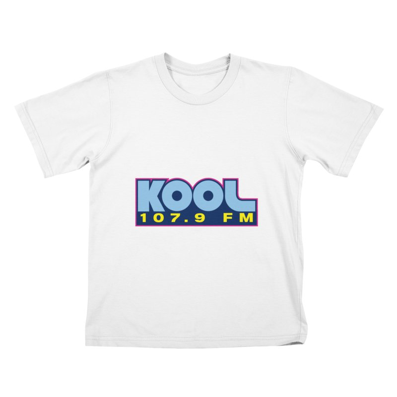 Kool 107.9 Logo Shirt Kids T-Shirt by townsquaregrandjunction's Artist Shop
