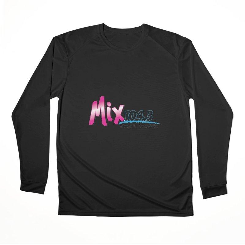 Mix 104.3 Logo Shirt Women's Longsleeve T-Shirt by townsquaregrandjunction's Artist Shop