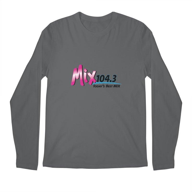 Mix 104.3 Logo Shirt Men's Longsleeve T-Shirt by townsquaregrandjunction's Artist Shop