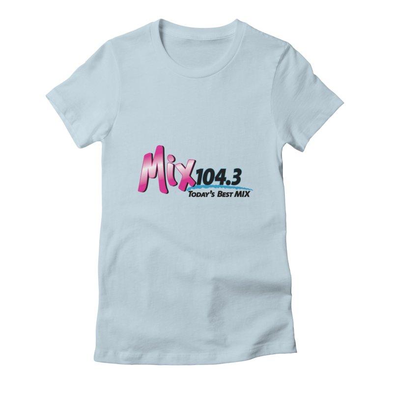 Mix 104.3 Logo Shirt Women's T-Shirt by townsquaregrandjunction's Artist Shop