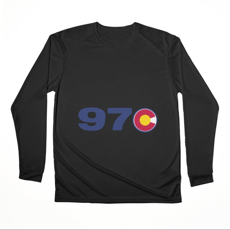 """970 Area Code with Colorado """"C"""" Women's Longsleeve T-Shirt by townsquaregrandjunction's Artist Shop"""