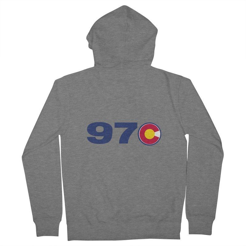 "970 Area Code with Colorado ""C"" Women's Zip-Up Hoody by townsquaregrandjunction's Artist Shop"