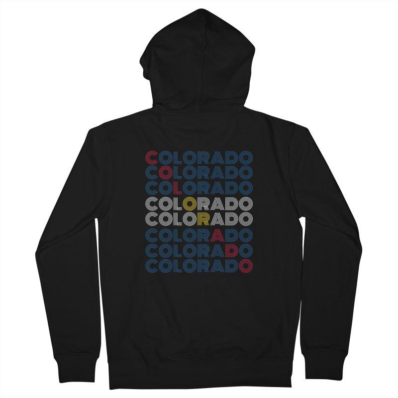 "Colorado ""Repeat"" Shirt Women's Zip-Up Hoody by townsquaregrandjunction's Artist Shop"