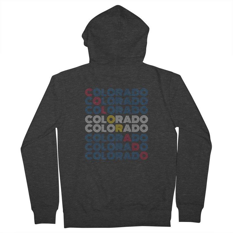 "Colorado ""Repeat"" Shirt Men's Zip-Up Hoody by townsquaregrandjunction's Artist Shop"