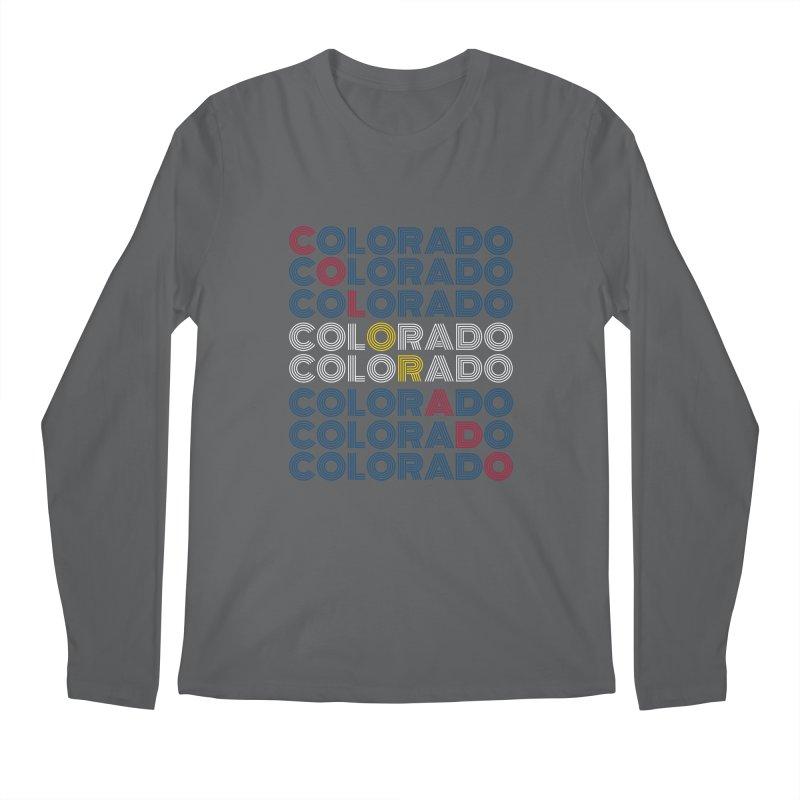 "Colorado ""Repeat"" Shirt Men's Longsleeve T-Shirt by townsquaregrandjunction's Artist Shop"