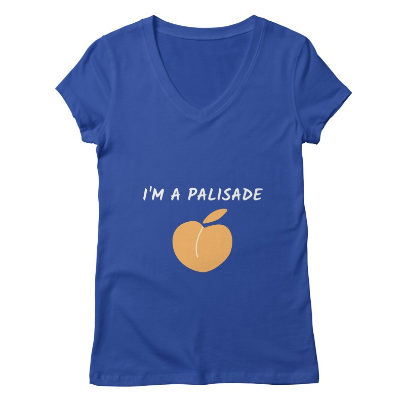 I'm a Palisade Peach Women's V-Neck by townsquaregrandjunction's Artist Shop