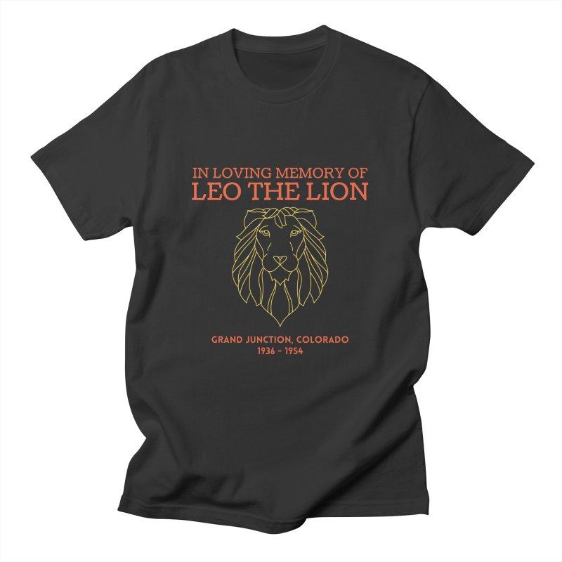 Remembering Leo the Lion Shirt Men's T-Shirt by townsquaregrandjunction's Artist Shop