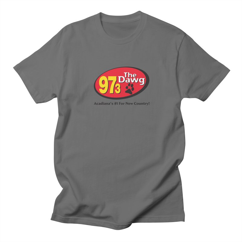 97.3 The Dawg Logo Men's T-Shirt by Townsquare Lafayette's Artist Shop