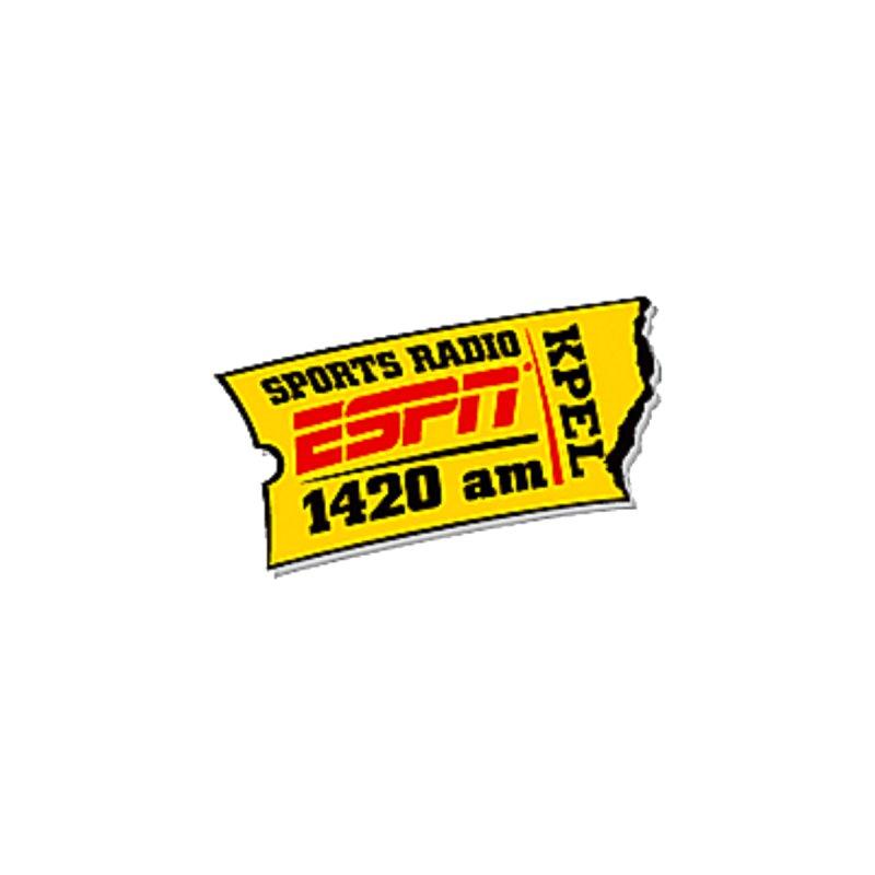 ESPN 1420 Logo Men's T-Shirt by Townsquare Lafayette's Artist Shop