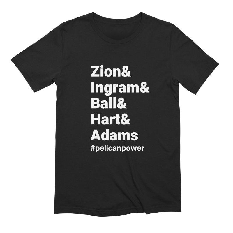 Pelicans Men's T-Shirt by Townsquare Lafayette's Artist Shop