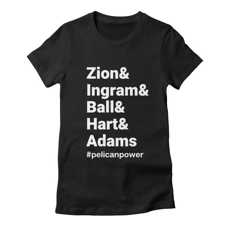 Pelicans Women's T-Shirt by Townsquare Lafayette's Artist Shop