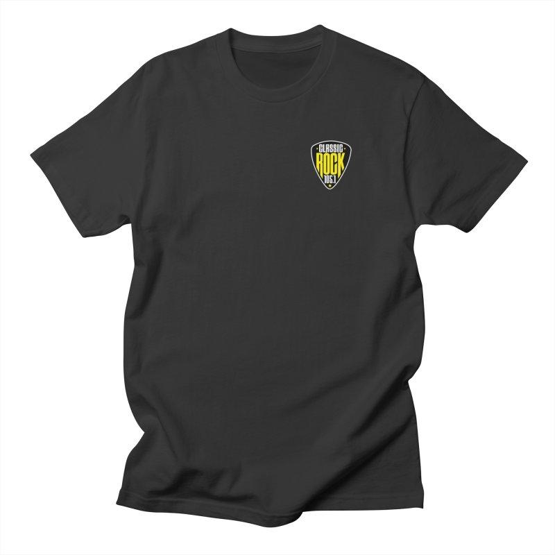 Classic Rock 1051 Pocket Men's T-Shirt by Townsquare Lafayette's Artist Shop