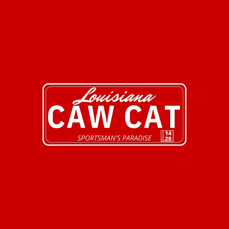 Caw Cat Men's T-Shirt by Townsquare Lafayette's Artist Shop