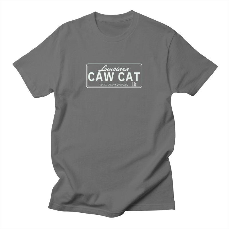 Caw Cat Men's T-Shirt by Townsquare Lafayette's Artist Shop