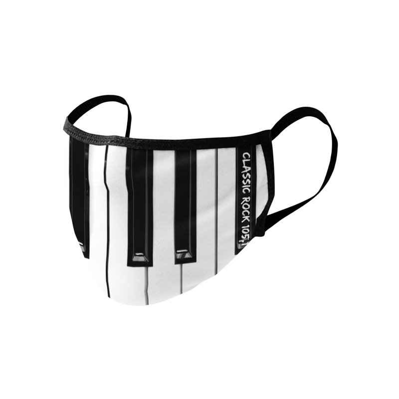Classic Rock Keyboard Accessories Face Mask by Townsquare Lafayette's Artist Shop