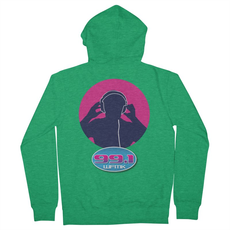 WFMK T-Shirt Men's Zip-Up Hoody by Townsquare Lansing's Artist Shop
