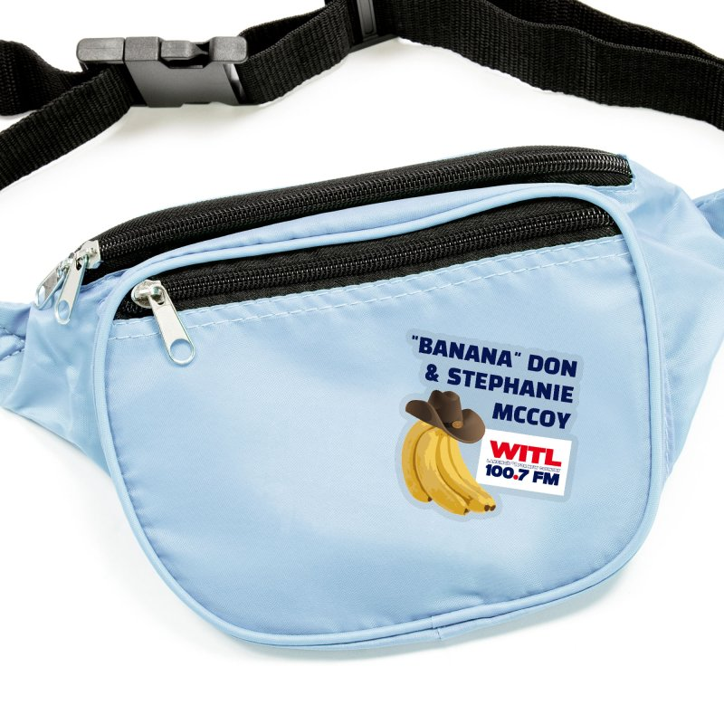 """""""Banana"""" Don & Stephanie Shirt Accessories Sticker by Townsquare Lansing's Artist Shop"""