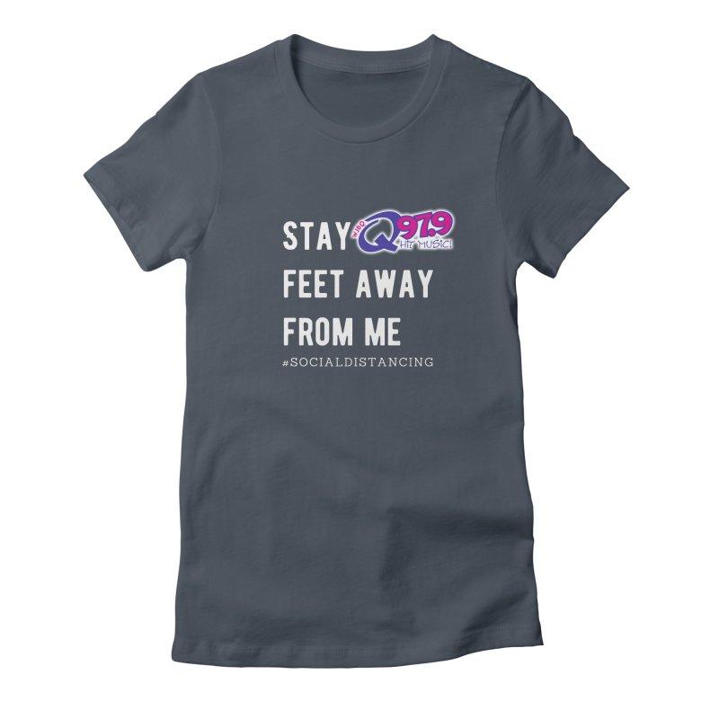 WJBQ Social Distancing Shirt Women's T-Shirt by Townsquare Merch