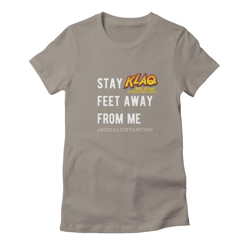 KLAQ Social Distancing Shirt Women's T-Shirt by Townsquare Merch