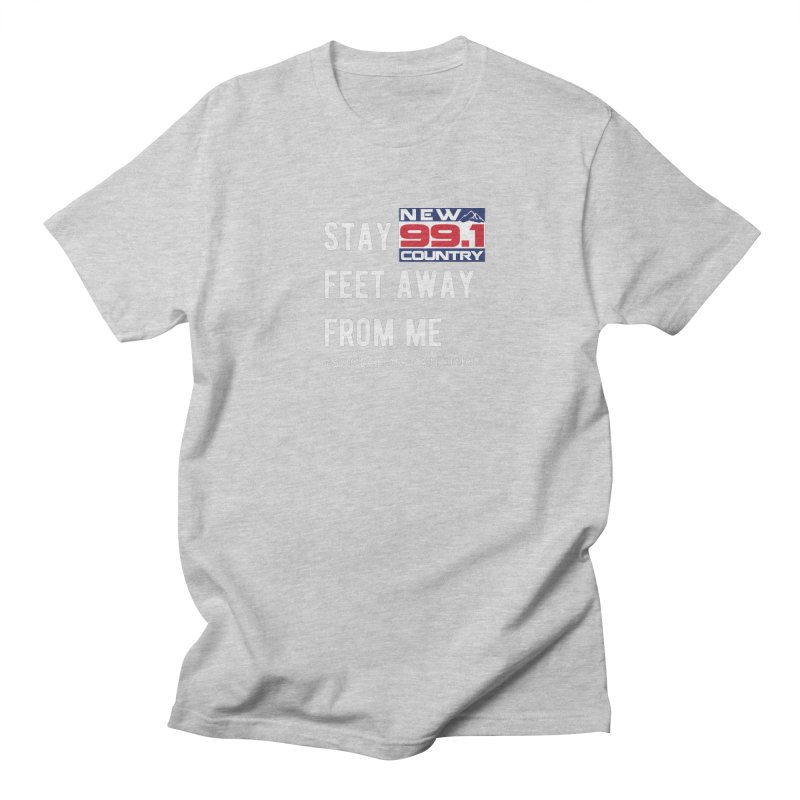New Country 99.1 Social Distancing Shirt Men's T-Shirt by Townsquare Merch