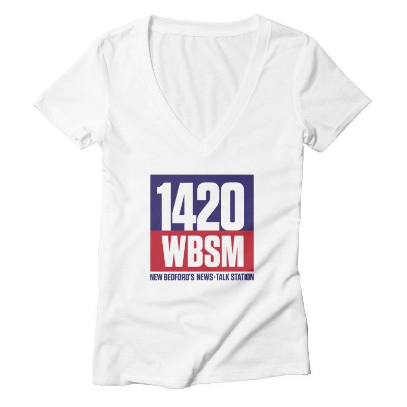 WBSM 1420 Women's V-Neck by Townsquare New Bedford's Shop