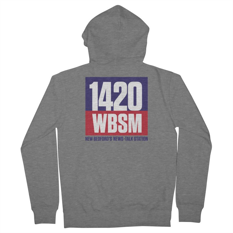 WBSM 1420 Men's Zip-Up Hoody by Townsquare New Bedford's Shop