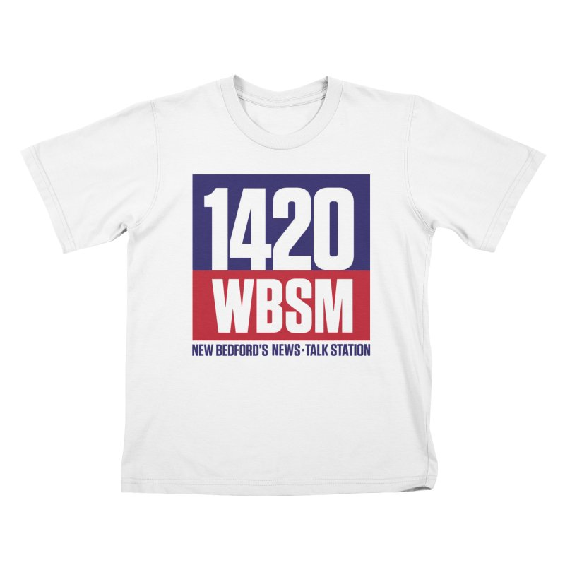 WBSM 1420 Kids T-Shirt by Townsquare New Bedford's Shop