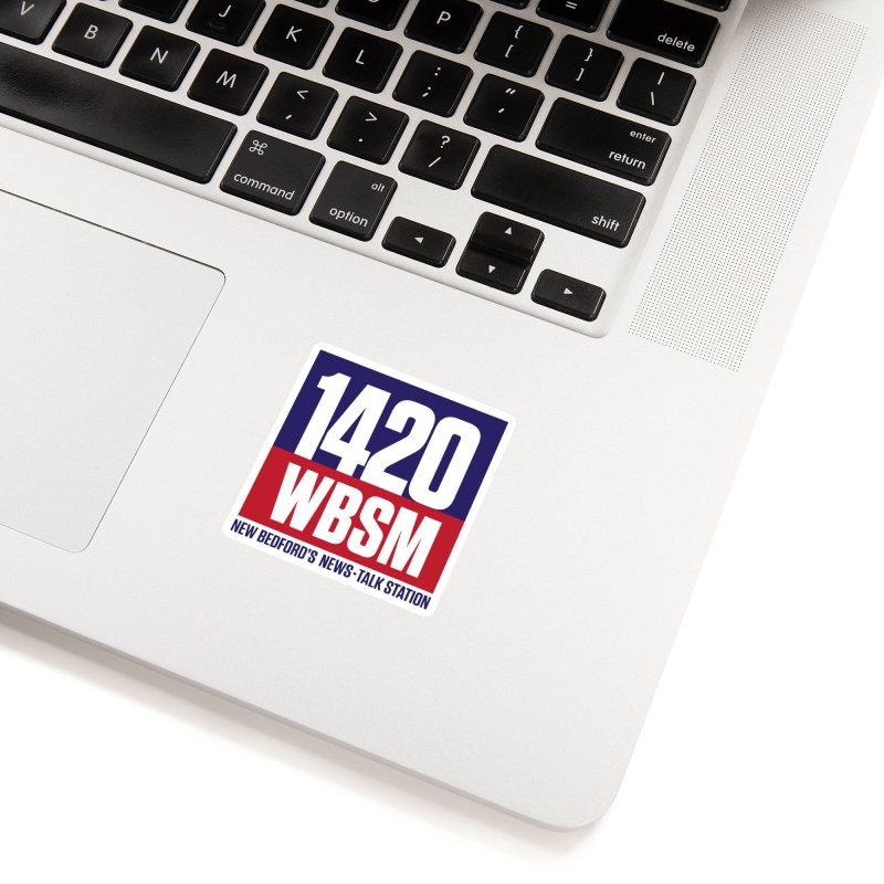 WBSM 1420 Accessories Sticker by Townsquare New Bedford's Shop