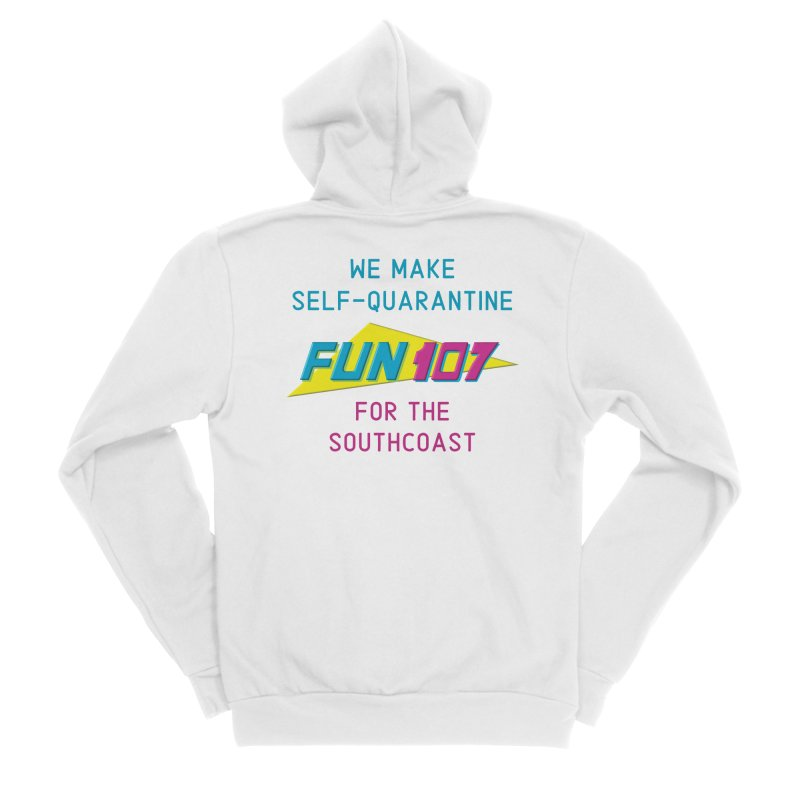 For The Southcoast - FUN 107 Men's Zip-Up Hoody by Townsquare New Bedford's Shop