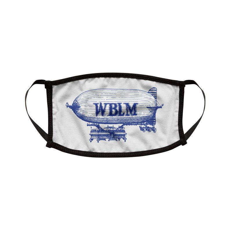 WBLM Blimp Accessories Face Mask by townsquareportland's Artist Shop