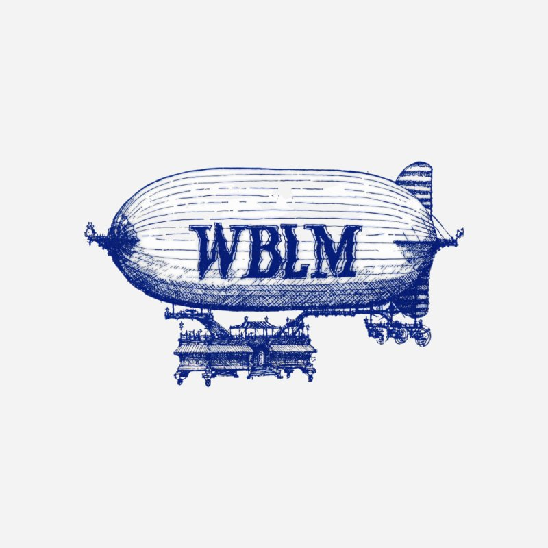 WBLM Blimp Home Framed Fine Art Print by townsquareportland's Artist Shop