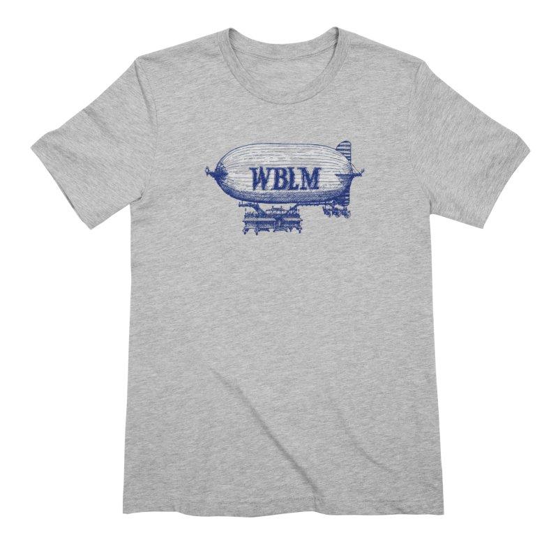 WBLM Blimp Men's T-Shirt by townsquareportland's Artist Shop