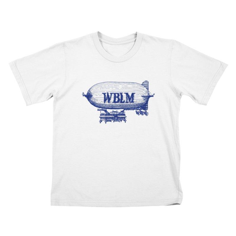 WBLM Blimp Kids T-Shirt by townsquareportland's Artist Shop