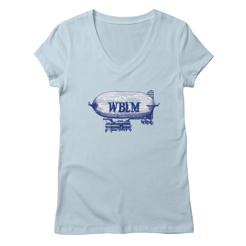 WBLM Blimp Women's V-Neck by townsquareportland's Artist Shop