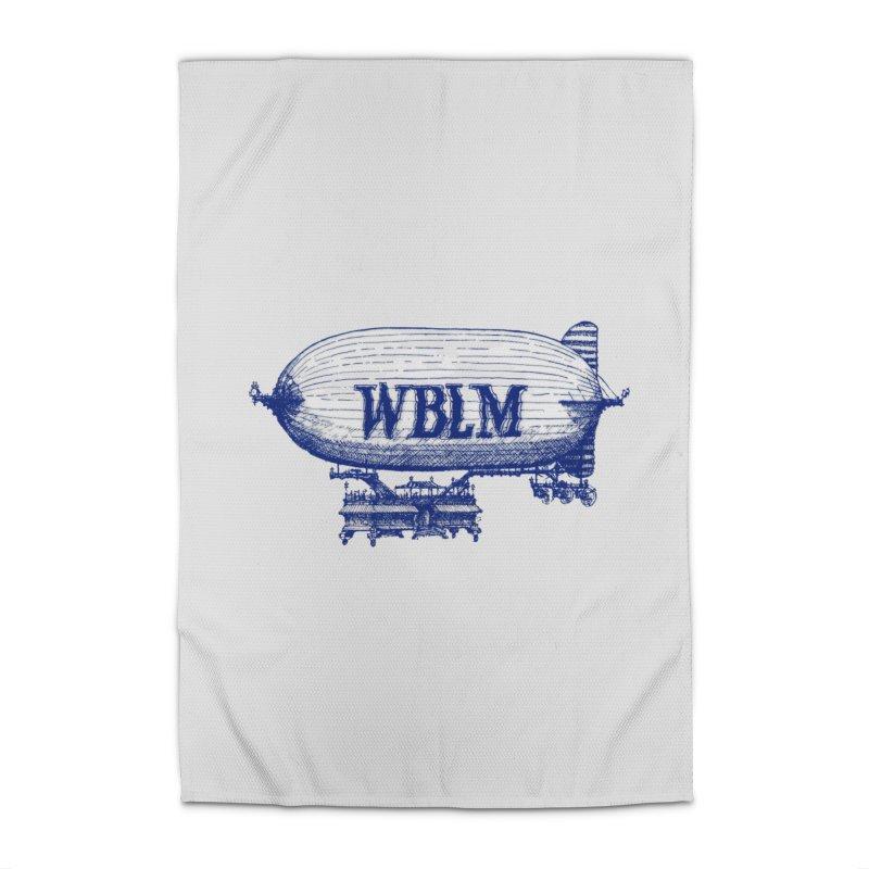 WBLM Blimp Home Rug by townsquareportland's Artist Shop