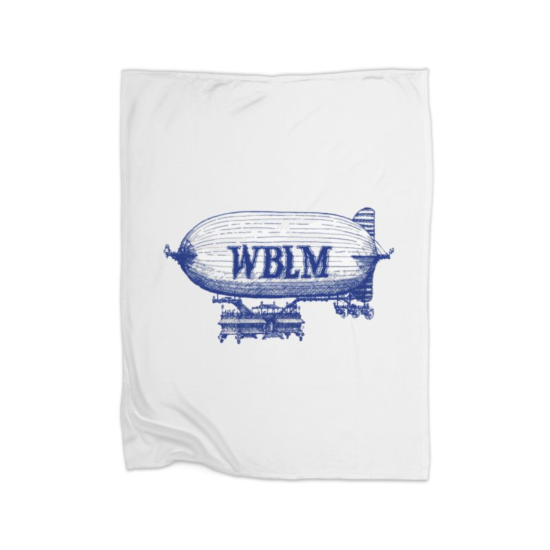WBLM Blimp Home Blanket by townsquareportland's Artist Shop