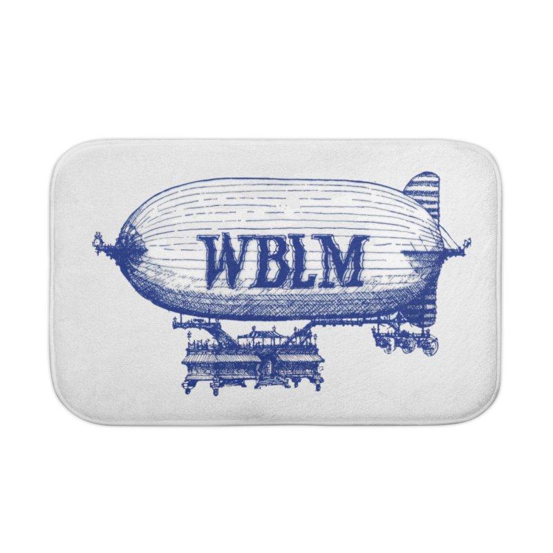 WBLM Blimp Home Bath Mat by townsquareportland's Artist Shop