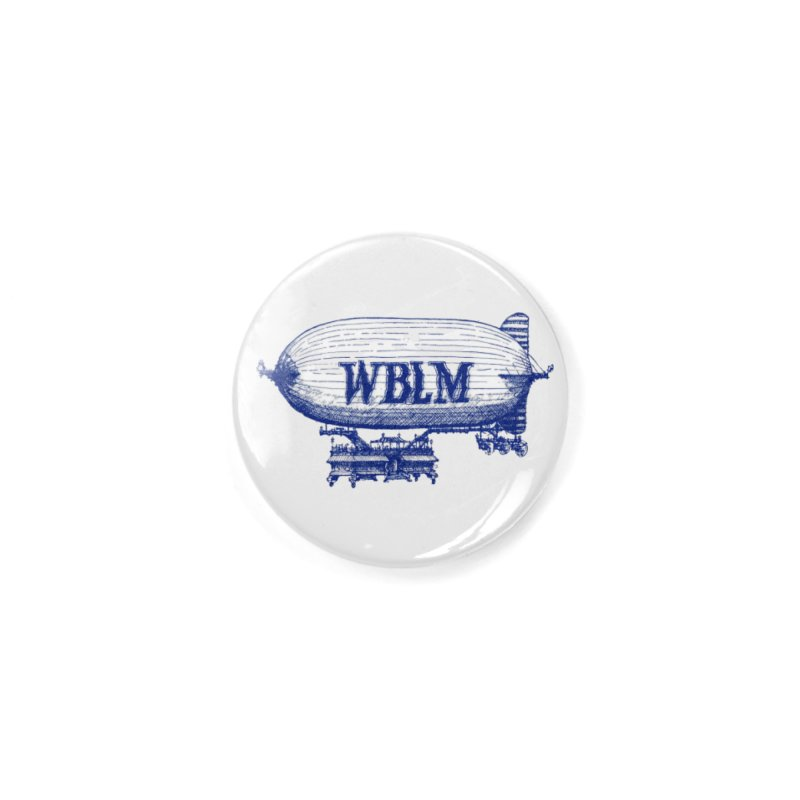 WBLM Blimp Accessories Button by townsquareportland's Artist Shop