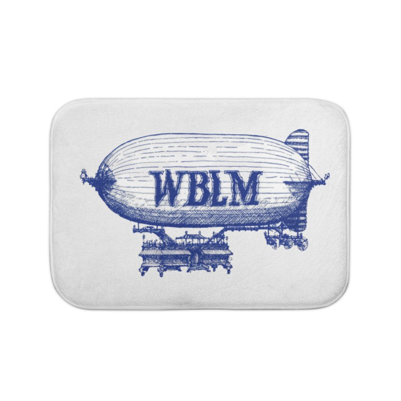 WBLM Blimp Home Bath Mat by townsquareportland's Artist Shop