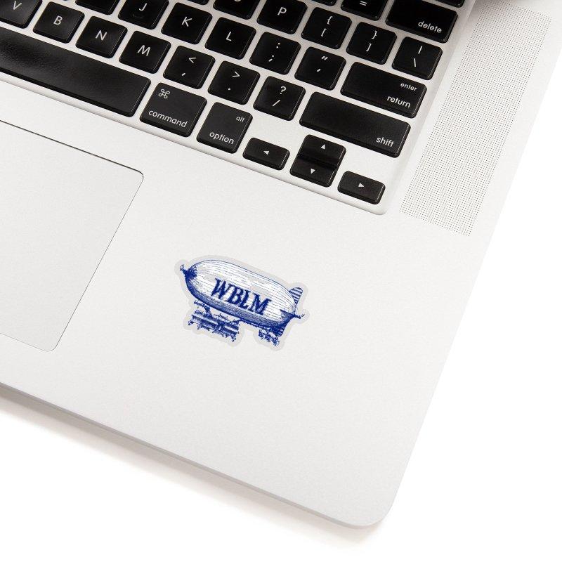 WBLM Blimp Accessories Sticker by townsquareportland's Artist Shop