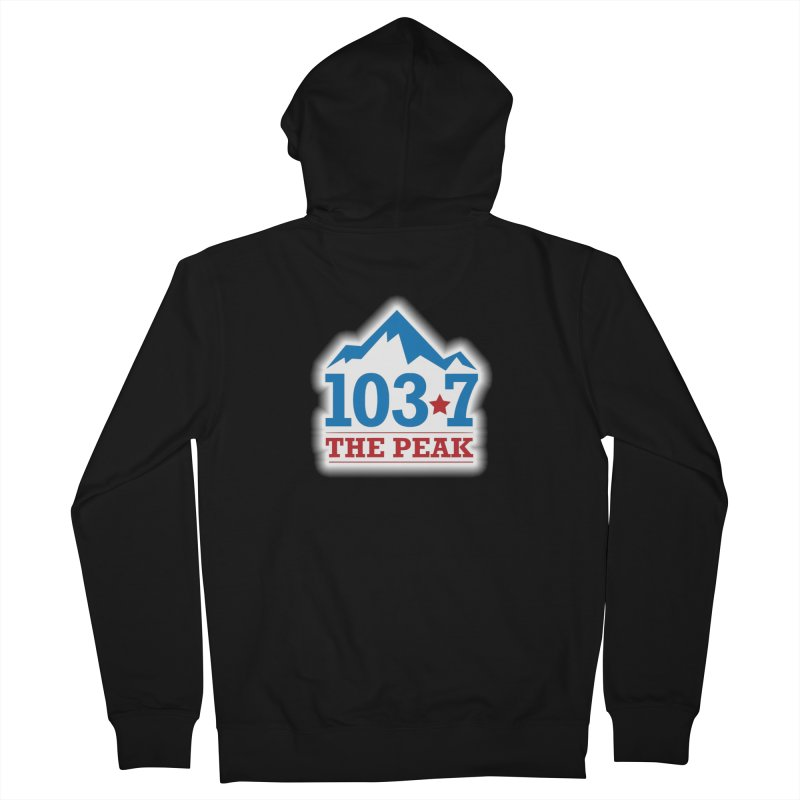 WPKQ Men's Zip-Up Hoody by townsquareportland's Artist Shop