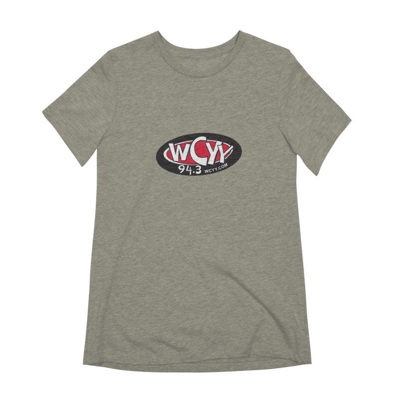 WCYY Women's T-Shirt by townsquareportland's Artist Shop